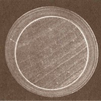 Срез культивированной жемчужины на перламутровом ядре (две разнородные структуры)