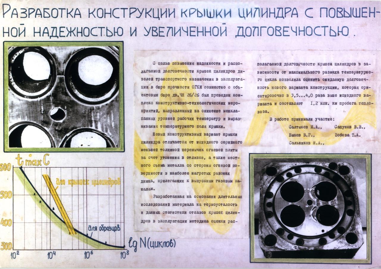 Разработка конструкции крышки цилиндра с повышенной надежностью и увеличенной долговечностью