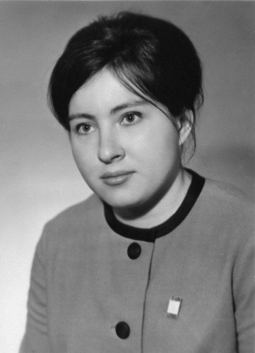 Сестра М.А.Салтыкова Наталья по матери Анне Ивановне. Казань 1980-е