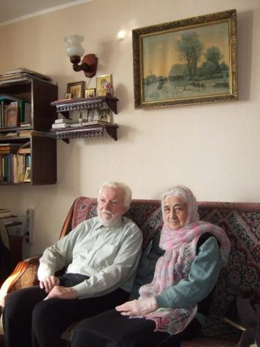 М.А.Салтыков и А.М.Казанская в Рязани. 2011